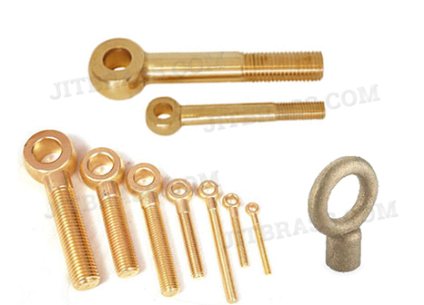 Brass Eye Bolt