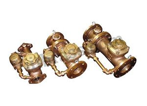 Compound Bronze Water Meters